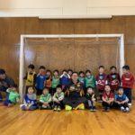 木津川市後援!幼児フットサル無料教室 終了しました。